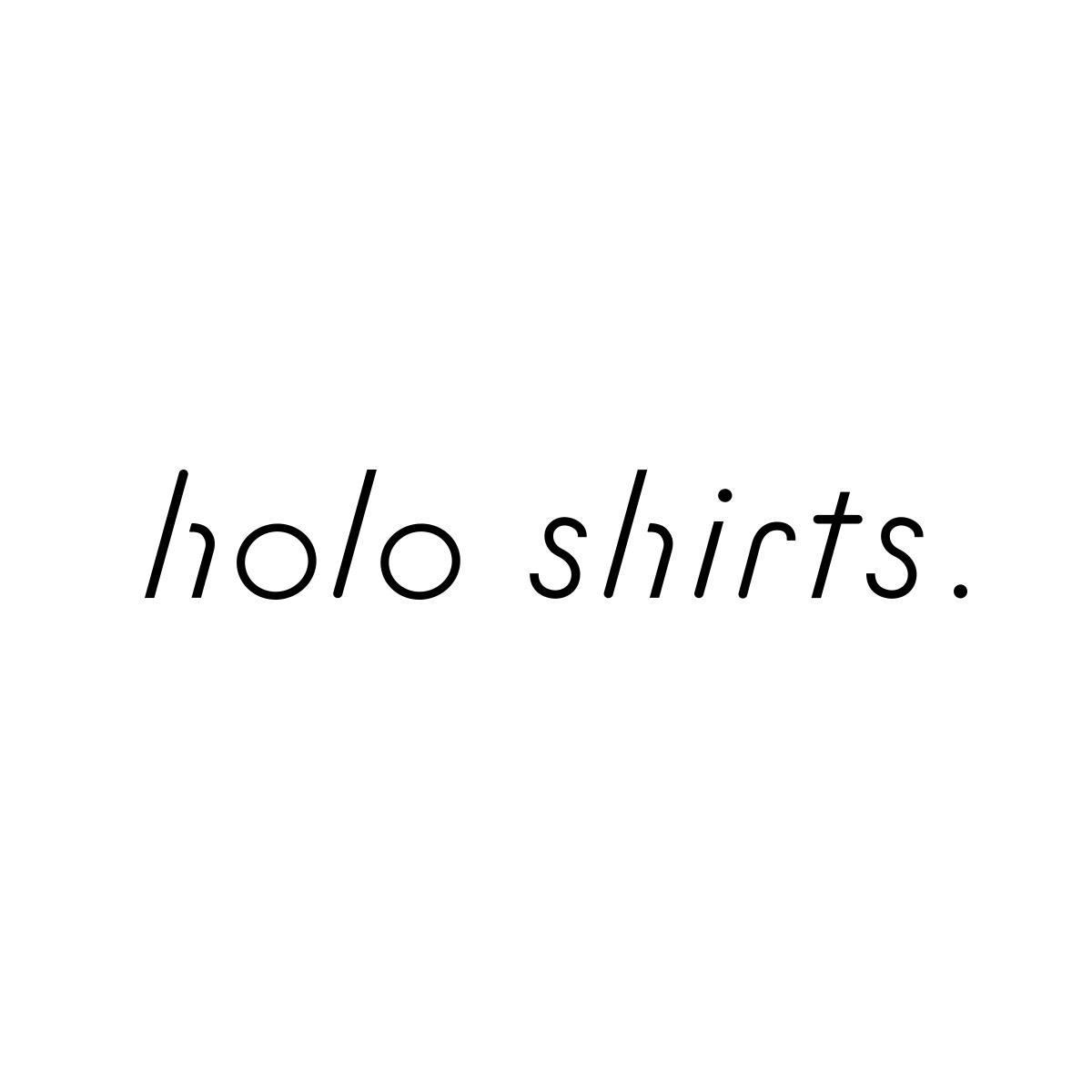 holo shirts.